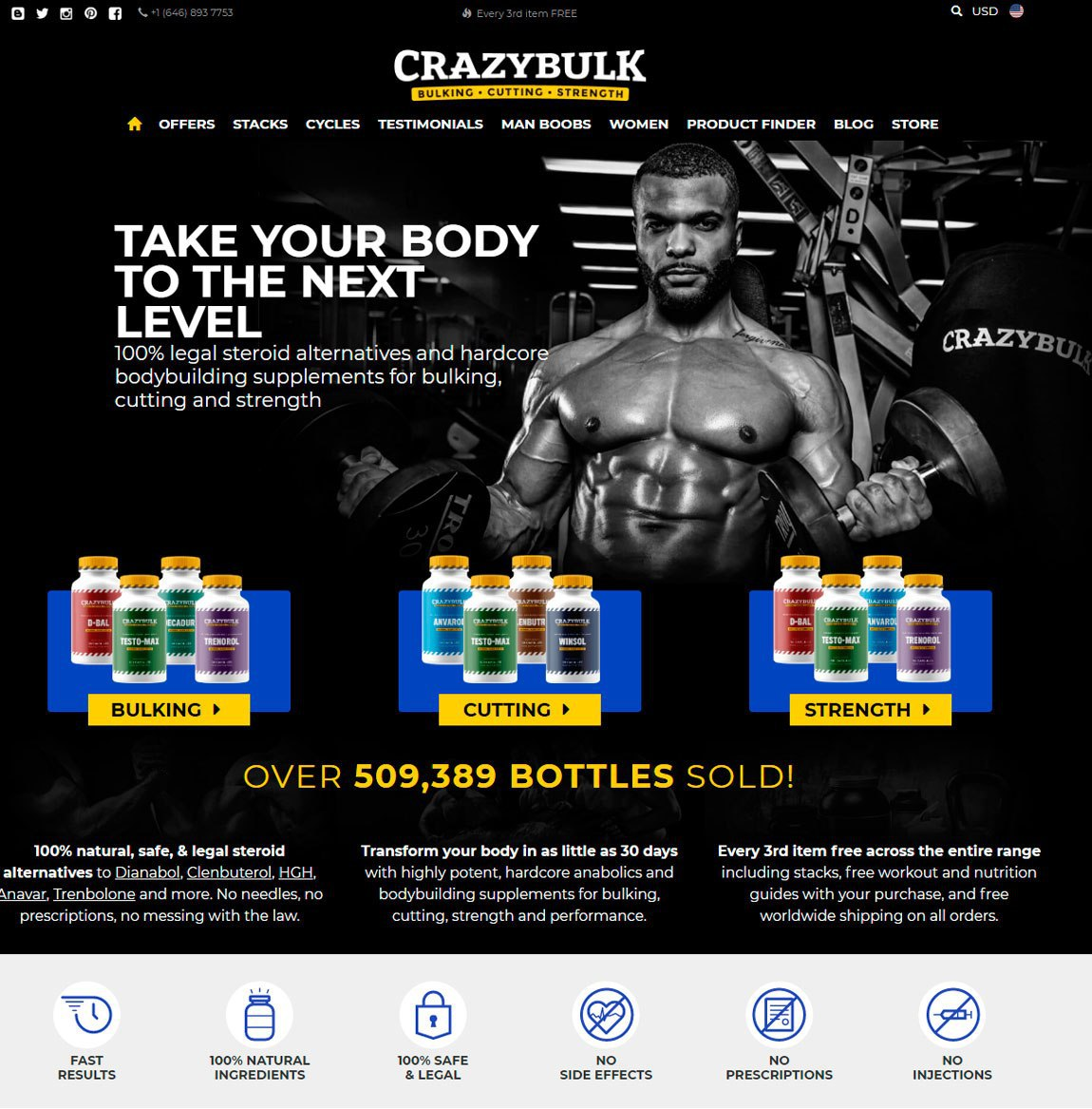 Crazy bulk clenbuterol before and after